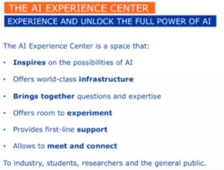 Bezoek het VUB AI Experience Center