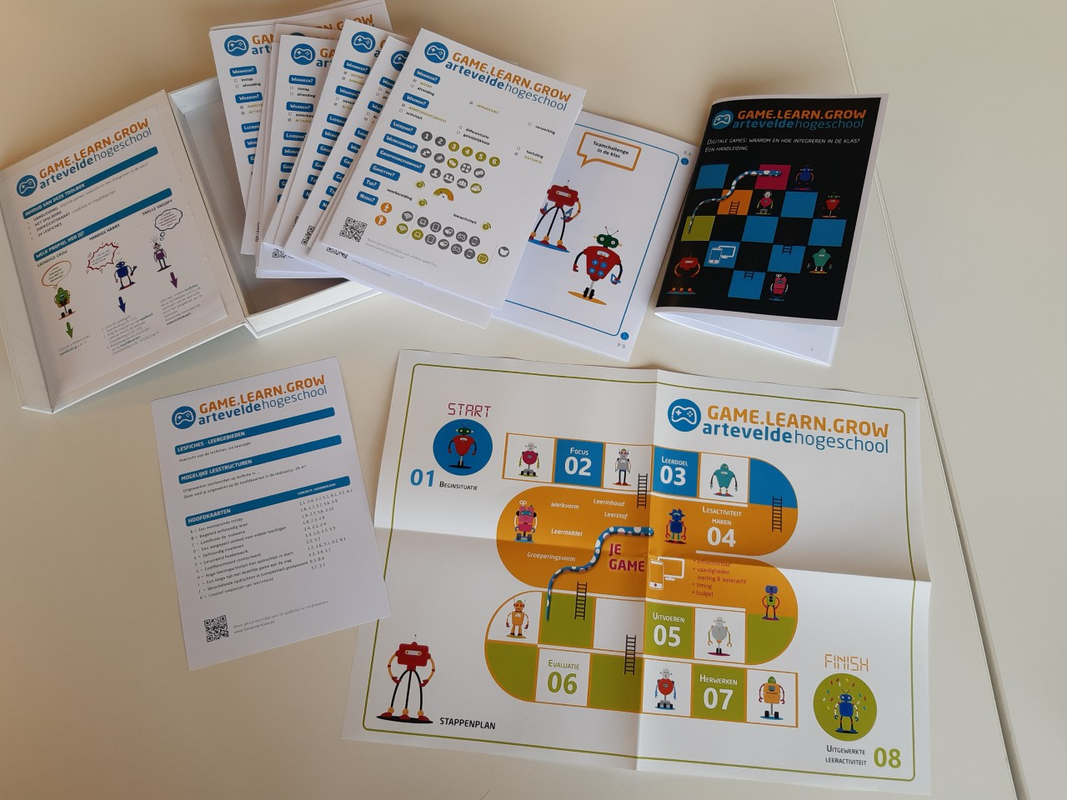 Digitale games in de klas: Game Learn Grow