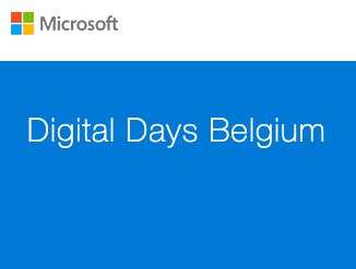 Genk, Antwerpen of Sint-Niklaas: Microsoft Digital Days