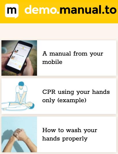 Manual.to : Creëer gratis je handleiding in een handomdraai