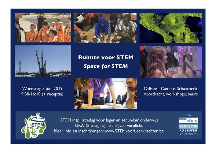 Ruimte voor STEM: iSTEM-studiedag